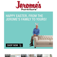 Happy Easter From Jerome's!