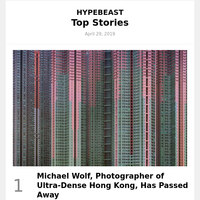 Michael Wolf, Photographer of Ultra-Dense Hong Kong, Has Passed Away