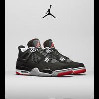 Get it Now: Jordan 4 'Bred'