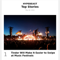 Tinder Will Make It Easier to Swipe at Music Festivals