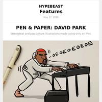 PEN & PAPER: DAVID PARK