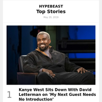Kanye West Sits Down With David Letterman on 'My Next Guest Needs No Introduction'