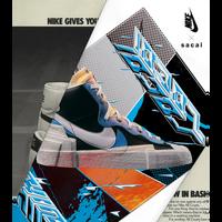 Nike x Sacai: Blazer Mid