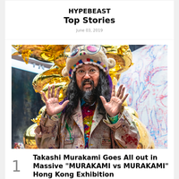 Takashi Murakami Goes All out in Massive \