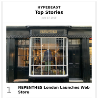 NEPENTHES London Launches Web Store