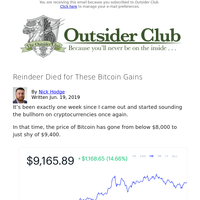 Reindeer Died for These Bitcoin Gains