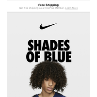 Trending now: Shades of blue