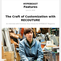 The Craft of Customization with RECOUTURE