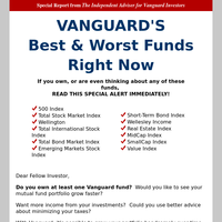 Vanguard Newsletters, Email Campaigns, Marketing Emails