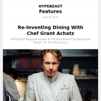 Grant Achatz from Chef's Table on Re-Inventing Dining