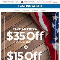 Celebrate Independence Day with EXTRA Savings! 🇺🇸