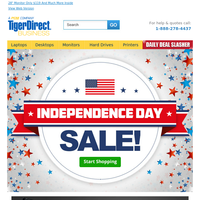 Happy Independence Day! Shop Our Catalog Of Deals Today!