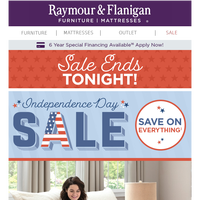 Final Day: Huge savings during our Independence Day Sale