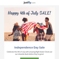 🎆 Independence Day SALE!