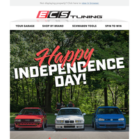 Happy Independence Day From Everyone Here at ECS Tuning!