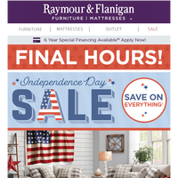 Final Hours: Independence Day deals are ending