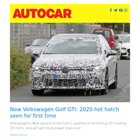 New Volkswagen Golf GTI: 2020 hot hatch seen for first time | Hyundai Ioniq plug-in hybrid 2019 review | Ferrari one-off models have five-year waiting list
