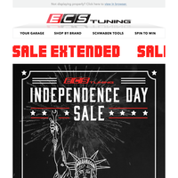 Sale Extended for Today Only! - Independence Day Sale - Ends Tonight!