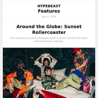 Around The Globe: Sunset Rollercoaster