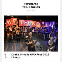 Drake Unveils OVO Fest 2019 Lineup