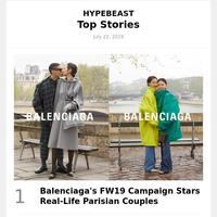 Balenciaga's FW19 Campaign Stars Real-Life Parisian Couples