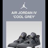 Get it First: Jordan 4 'Cool Grey'
