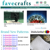 21 Dishcloth Patterns