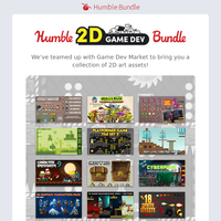 Make your game idea a reality with the Humble 2D Game Dev Bundle!