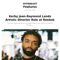 Kerby Jean-Raymond Lands Artistic Director Role at Reebok