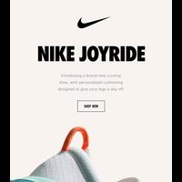 Exclusive access: Nike Joyride