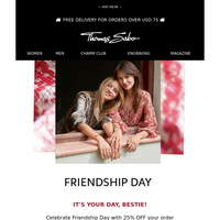25% Off - Happy Friendship Day! ❣️