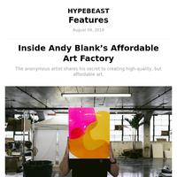 Studio Visits: Andy Blank