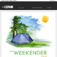 The Weekender: A Roundup of Inspiration to Get Outside