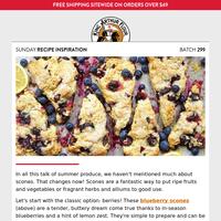 Sunday Recipe Inspiration: Game of scones