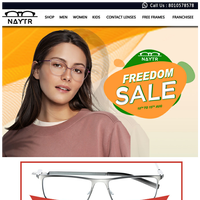 Hi Dear_ Naytr Independence day SALE is here.