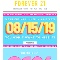 21% off everything starts NOW!
