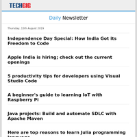 Independence Day Special: How India Got its Freedom to Code | Apple India is hiring; check out the current openings