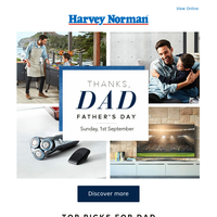 Thank Dad this Father's Day with the perfect gift | Catalogue out now
