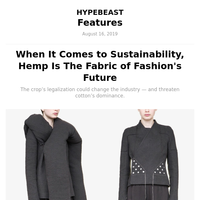 Hemp - The Fabric of Fashion's Future