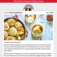 Sunday Recipe Inspiration: Millions of peaches