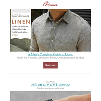A Man's Complete Guide to Linen: Hacks for Wrinkles, Affordable Picks, Outfit Inspiration & More
