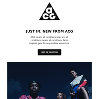 Gear up with ACG
