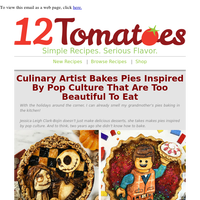 One Look At These Pies & You'll Want To Frame Them! Get Some Creative Inspiration For Your Next Pie