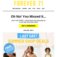 GET UP TO 80% OFF OF SUMMER!