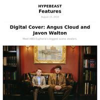 Digital Cover: Angus Cloud and Javon Walton
