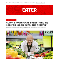 Alton Brown on the inspiration behind 'Good Eats: The Return'