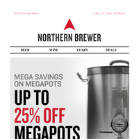 Up To 25% Off Top Rated MegaPot Kettles
