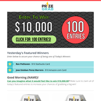 Prize Newsletters, Email Campaigns, Marketing Emails, Email