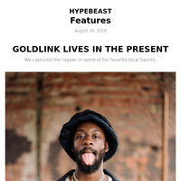 GoldLink Lives In The Present