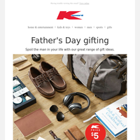 Gifts he'll love this Father's Day!